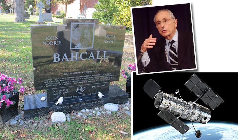 bahcall_grave