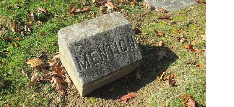 mention_grave